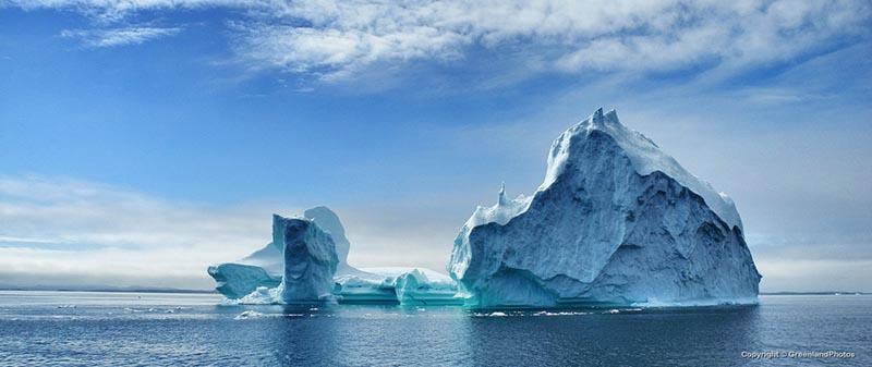 Icebergs géants au Groenland
