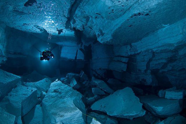 plongée sous marine au Groenland
